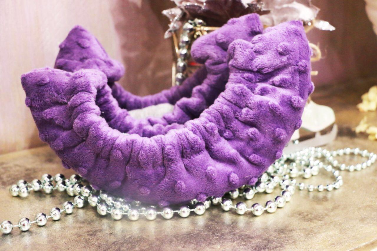 Сушки на лезвие коньков (фиолетовые)