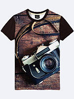 Футболка Старинный фотоаппарат