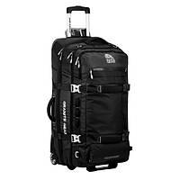 Сумка-рюкзак на колесах Granite Gear Cross Trek Wheeled 131 Black/Сhromium