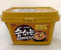 Паста соевая корейская классическая Доенянг Sempio 460 г, фото 1