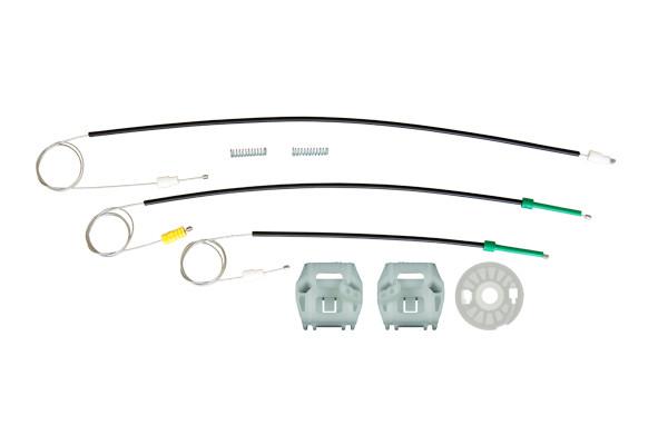 Ремкомплект механизма стеклоподъемника передней левой двери Peugeot 607