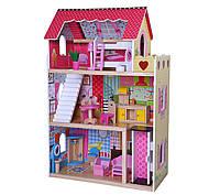 Игровой кукольный домик для барби 4120 Roseberry + лифт
