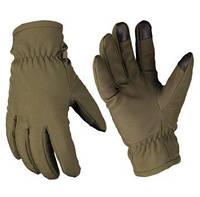 Перчатки OD SOFTSHELL GLOVES THINSULATE™ олива