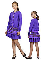 Костюм для девочки трикотажный М-1100-1102, фото 1