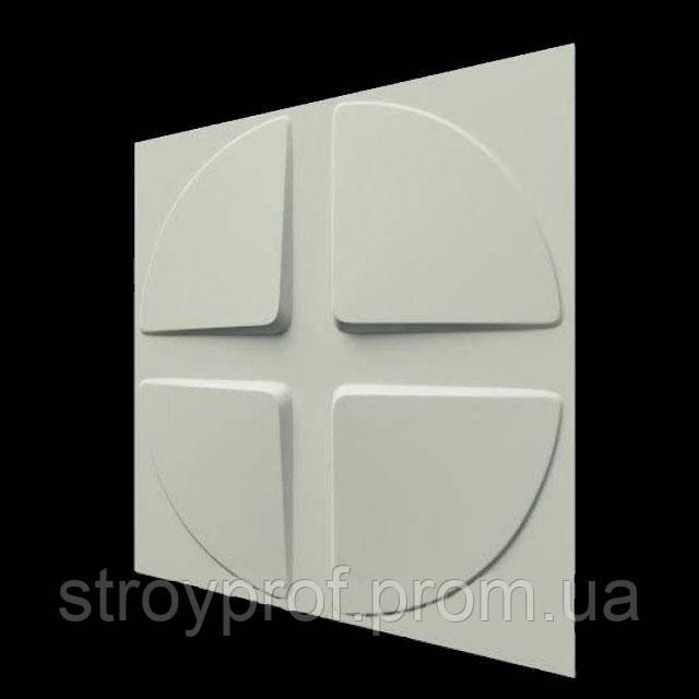 3D панели «Скаты-круг-2»