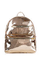 Рюкзак женский POOLPARTY Mini mini-bckpck-gold