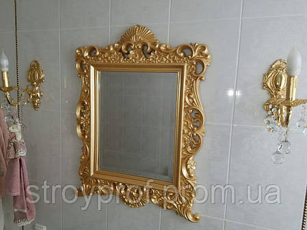 Гипсовая рама для зеркала, фото 2