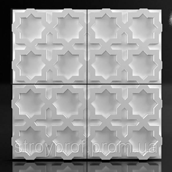 3D панели «East-3» Гипс