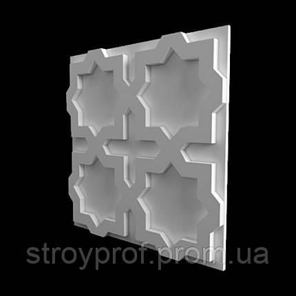 3D панели «East-3» Гипс, фото 2