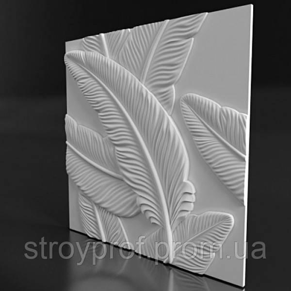 3D панели «Blade» Бетон, Флористика