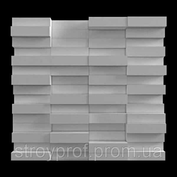 3D панели «Кирпич» Бетон