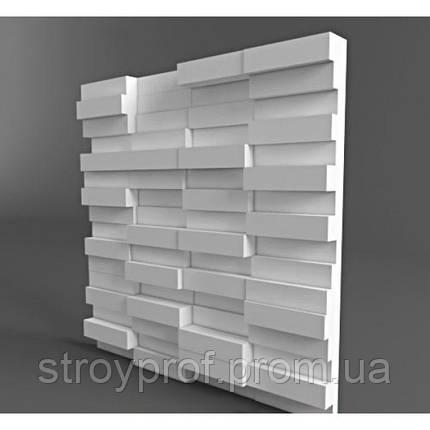 3D панели «Кирпич» Бетон, фото 2