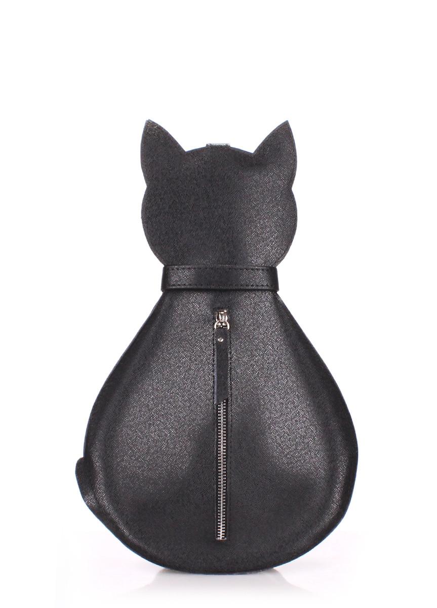 Рюкзак женский POOLPARTY Cat leather-cat-backpack