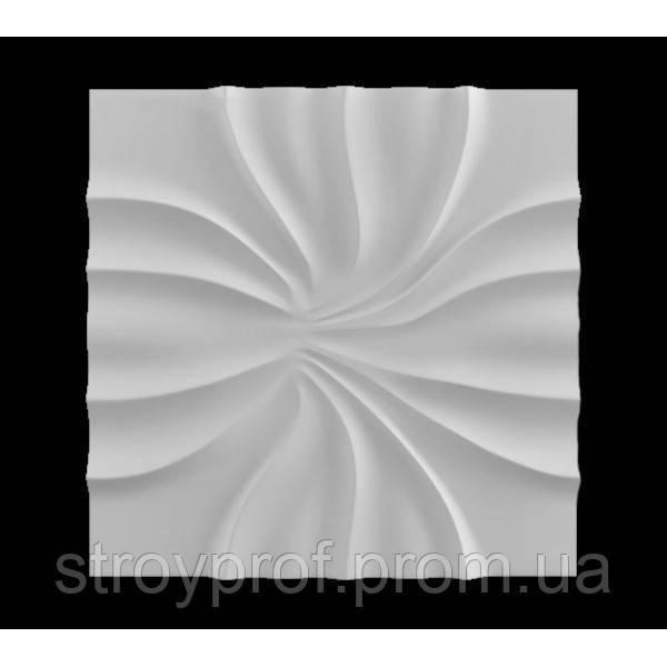 3D панели «Абелия» Бетон