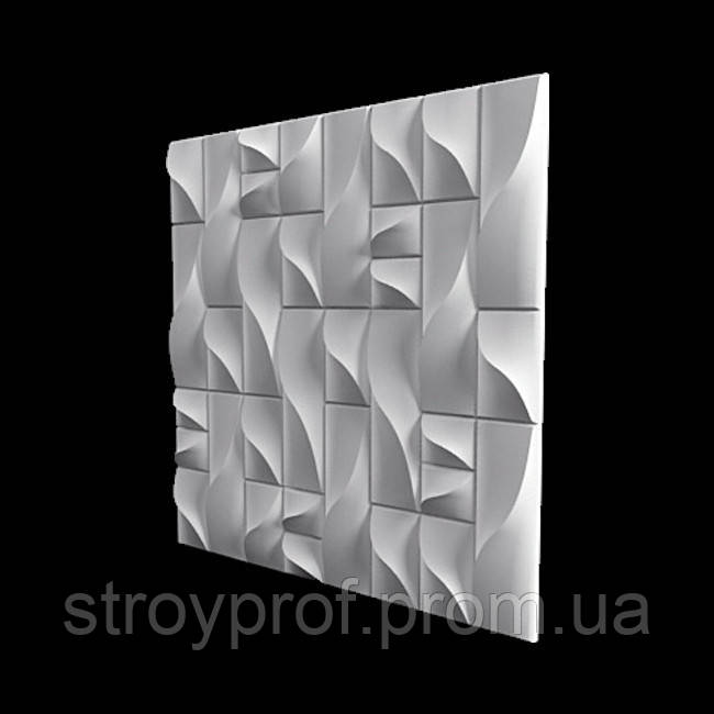 3D панели  «Вертикаль» Бетон