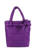 Дутая сумка POOLPARTY pool-violet-bow