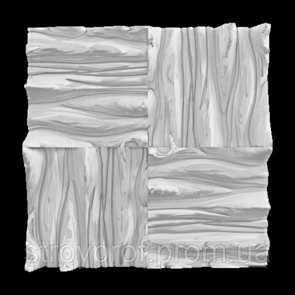3D панели «Дерево» Бетон
