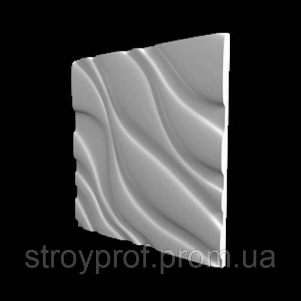 3D панели «Диагональ» Бетон