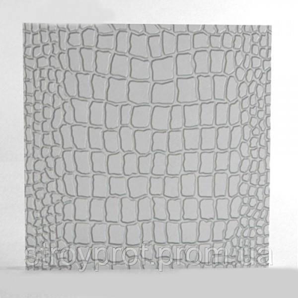 3D панели «Змея» Бетон