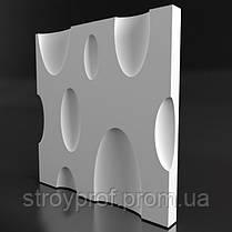 3D панели для стен «Bubbles» Бетон, фото 3