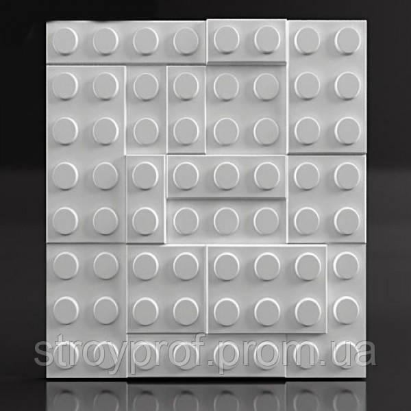 3D панели «Lego» Бетон