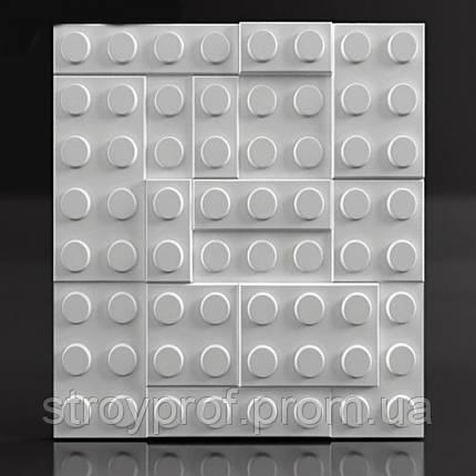 3D панели «Lego» Бетон, фото 2