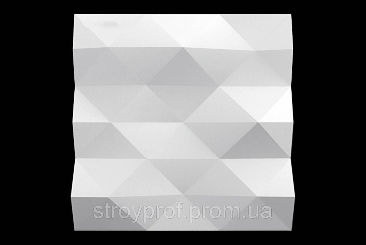 3D Панели «Pyramid» Бетон