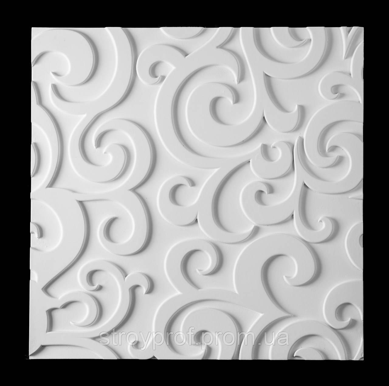 3D панели «Leaf» Бетон