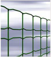 Декоративная сетка сварная оцинкованная в ПВХ покрытии 1,5м, 25м