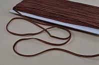 Сутаж арт. 946/3мм цв.070 шоколадный, цена за упаковку 33 метра.