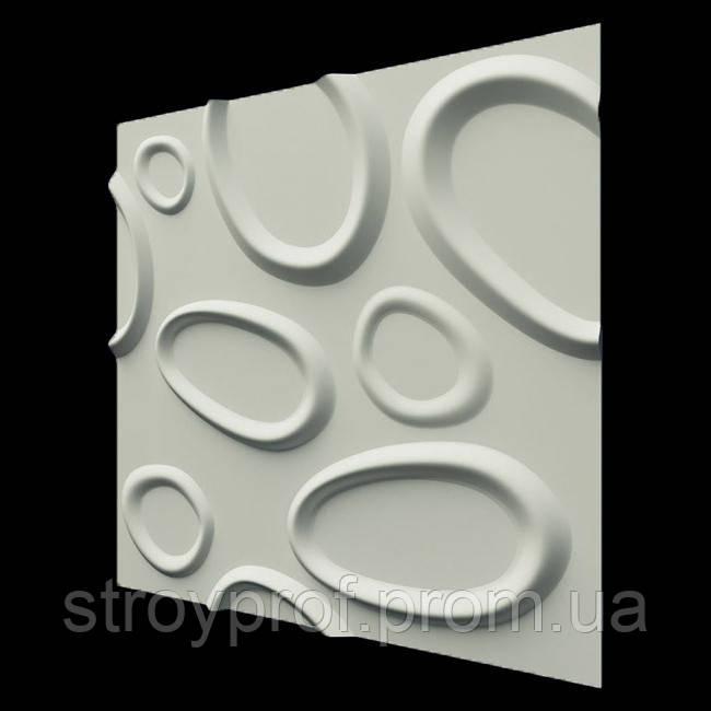 3D панели «Брызги» Бетон