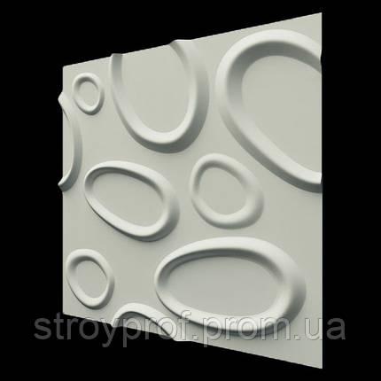 3D панели «Брызги» Бетон, фото 2