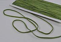 Сутаж арт. 946/3мм цв.098/2 олива, цена за упаковку 33 метра.