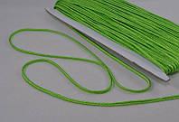 Сутаж арт. 946/3мм цв.115 ярко-зеленый, цена за упаковку 33 метра.
