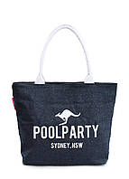Джинсовая сумка POOLPARTY pool-7-jeans