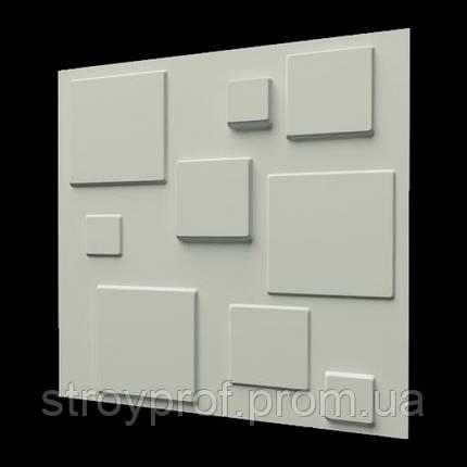 3D панели «Плитка» Бетон, фото 2