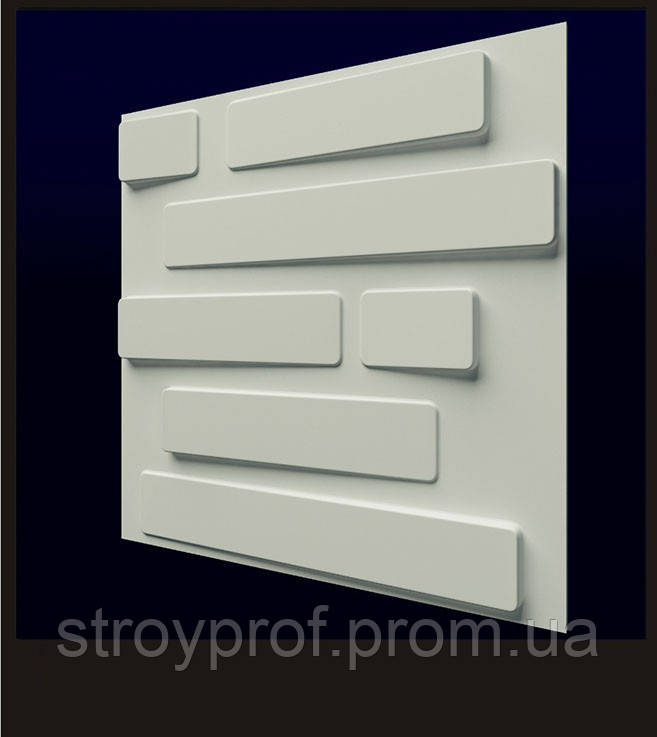 3D панели «Кладка» 3.50000000, Бетон, Плитка