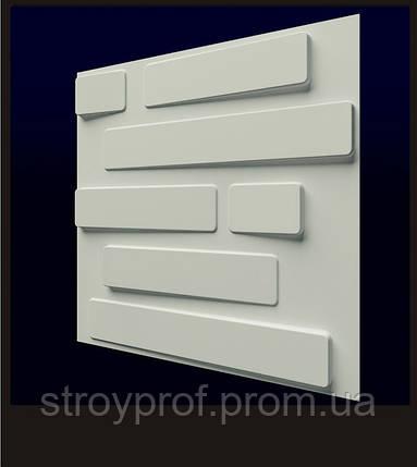 3D панели «Кладка» 3.50000000, Бетон, Плитка, фото 2