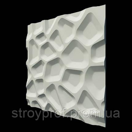 3D панели «Впадины» Бетон, фото 2