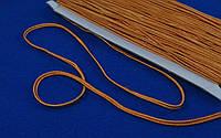 Сутаж арт. 946/3мм цв.157 светло-оранжевый, цена за упаковку 33 метра.