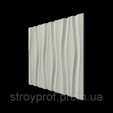 3D панели «Ручьи» Бетон, фото 2