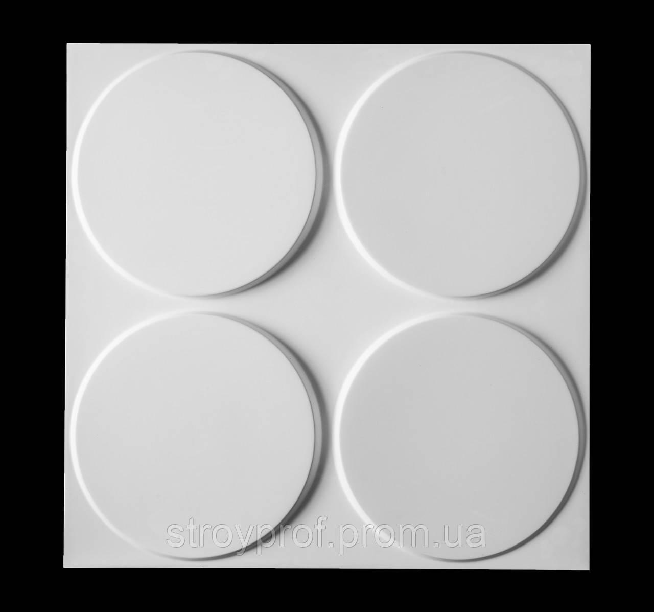 3D панели «Твистер» Бетон