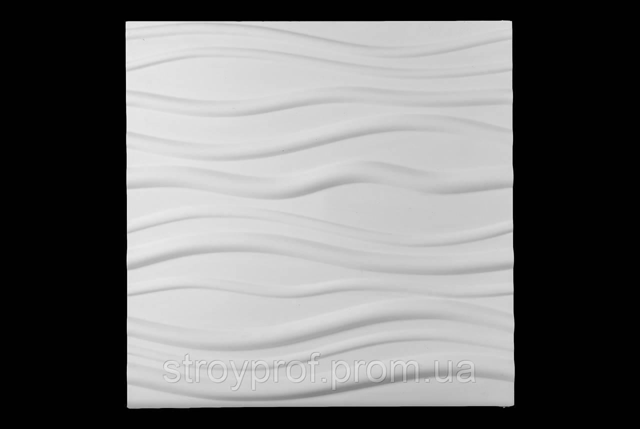 3D панели «Лианы» Бетон