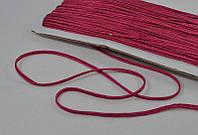 Сутаж арт. 946/3мм цв.165 светло-бордовый, цена за упаковку 33 метра.