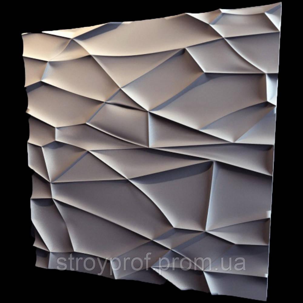 3D панели «Рок» Бетон