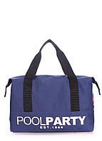 Коттоновая сумка POOLPARTY pool-12-darkblue