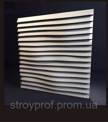 3D панели «Линии» Бетон, фото 2