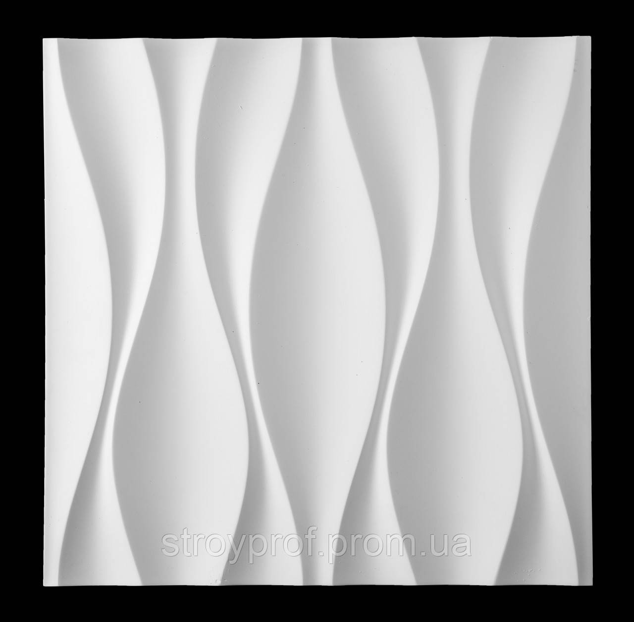 3D панели «Луни» Бетон