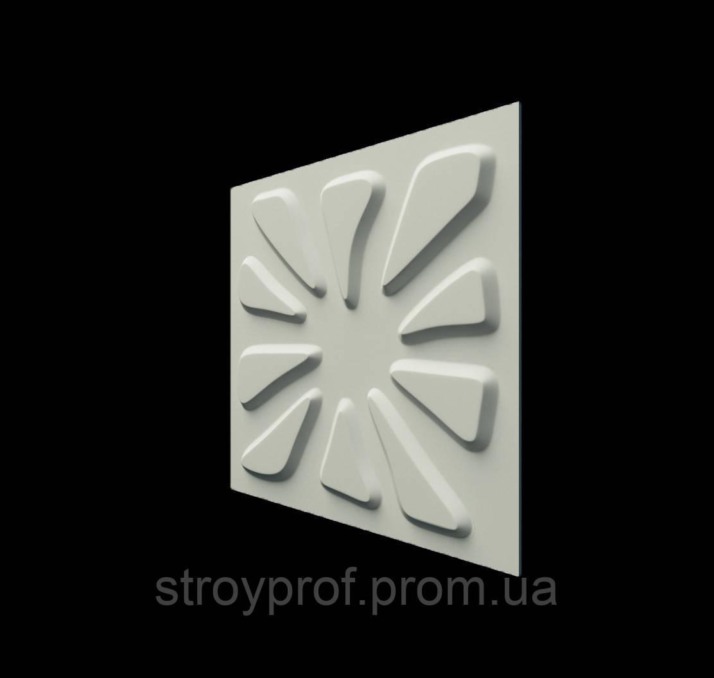 3D панели «Розали» Бетон