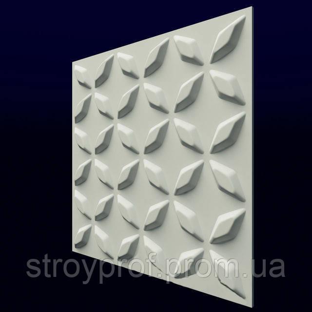 3D панели «Нейт» 4, Бетон, Плитка